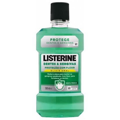Picture of ELIXIR LISTERINE DENTES & GENGIVAS 500ML