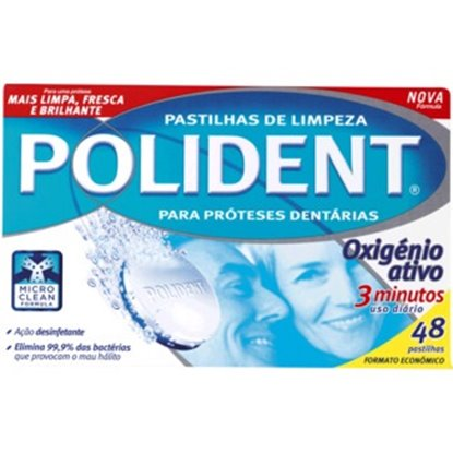 Picture of PASTILHAS POLIDENT 48 UNID