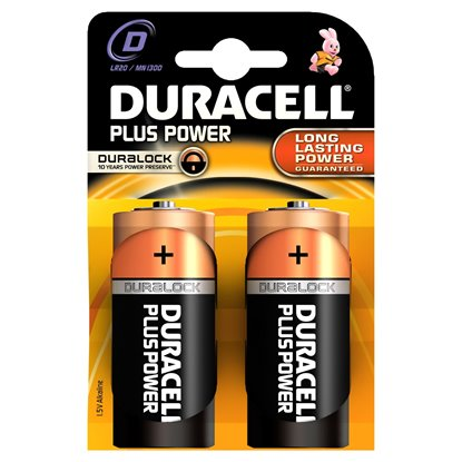 Picture of PILHA DURACELL D MN1300 LR20 PACK2