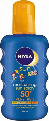 Picture of PROTETOR SOLAR NIVEA SPRAY KIDS COR FP50 200ML