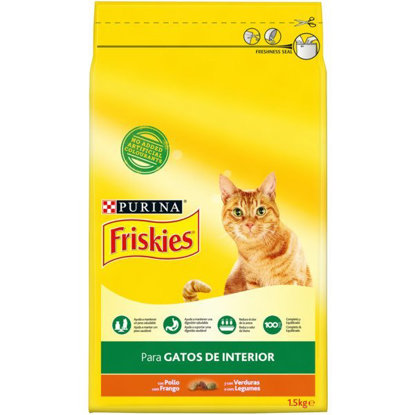 Picture of ALIMENTO FRISKIES GATO JAR VERDE 1.5KG