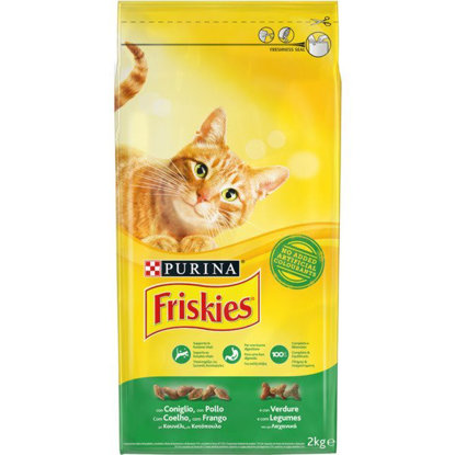 Picture of ALIMENTO FRISKIES GATO  COELHO 2KG