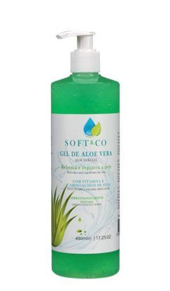 Picture of BODY  SOFT&CO ALOE VERA 490ML