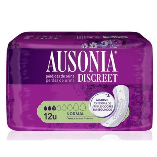Picture of PENSOS AUSONIA DISCREET NORMAL 12