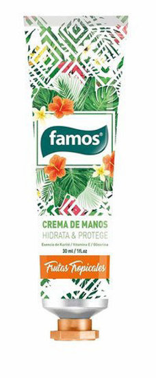 Picture of Creme Mãos Famos Tropical 30ml