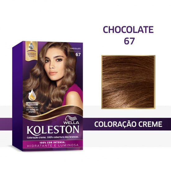 Picture of Coloração Koleston 67 Castanho Chocolate